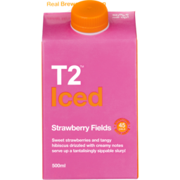 Photo of T2 Iced Strawberry Fields 500ml