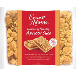 Photo of Ernest Adams Slice Apricot Crumble 350g