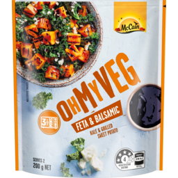 Photo of Mccain Oh My Veg Feta & Balsamic Kale & Grilled Sweet Potato 200g