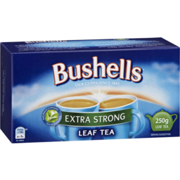 Photo of Bushells Extra Strong Leaf Tea 250g