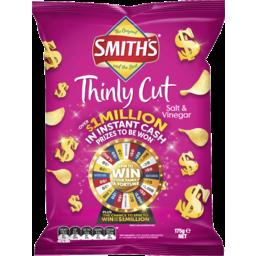 Photo of Smiths Chips Thinly Salt &Vinegar (175g)