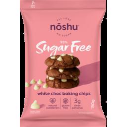 Photo of Noshu Sugar Free White Choc Baking Chips 150gm
