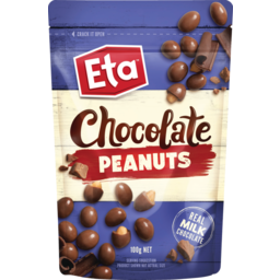 Photo of Eta Chocolate Peanuts 100g