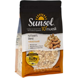Photo of Sunsol Muesli Nut Lovers (500g)