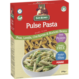 Photo of San Remo Pulse Pasta Penne 250gm