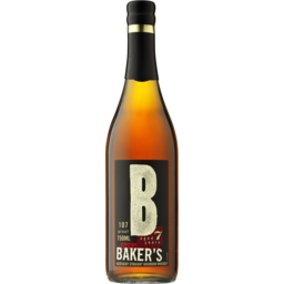 Photo of Bakers Bourbon 7yo