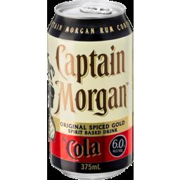 Photo of Captain Morgan & Cola Can