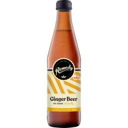 Photo of Remedy Organic Soda Ginger Beer 330ml