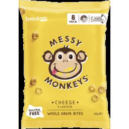 Photo of Freedom Foods Messy Monkeys Cheese Wholegrain Bites 160g