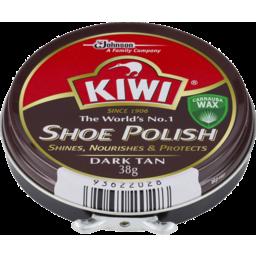 Photo of Kiwi Shoe Polish Dark Tan #38gm