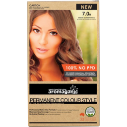 Photo of Aromaganic Hair Colour - Medium Blonde Natural 7.0n