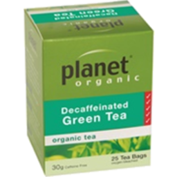 Photo of Planet Organic - Green Tea Decaf - 25 Bags