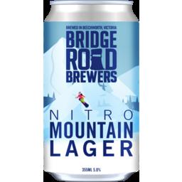 Photo of Bridge Road Nitro Mountain Lager Can