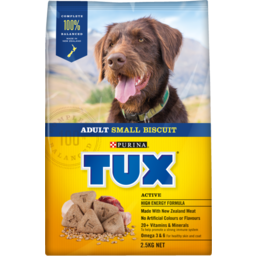 Photo of Tux Dry Dog Food High Energy Active 2.5kg