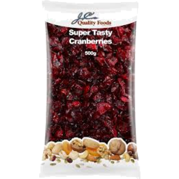 Photo of J.C.'S Cranberries Dried 500g