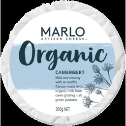 Photo of Marlo Organic Camembert Cheese 200g