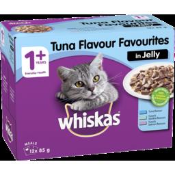 Photo of Whiskas Jelly Tuna Catfood 85g 12pk