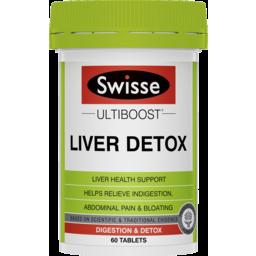 Photo of Swisse Ultiboost Liver Detox 60 Packs