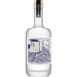 Photo of 23rd Street Navy Strength Gin