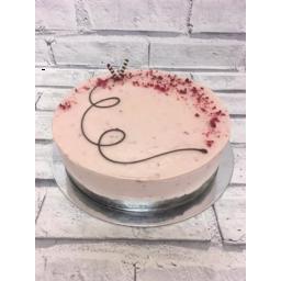 Photo of Divine Berrilicious Brownie Cheesecake Gluten Free Small