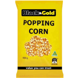 Photo of Black & Gold Corn Popping 500gm