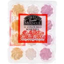 Photo of Cowells Rosettes Meringue 12 Pack