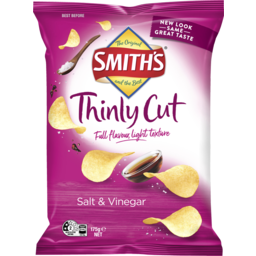Photo of Smiths Thinly Cut Salt & Vinegar 175gm