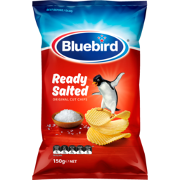Photo of Bluebird Originals Potato Chips Ready Salted 150g