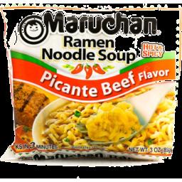Photo of Maruchan Ramen Noodle Picante Beef