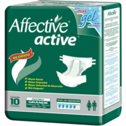 Photo of Affective Active Adult Diaper Lrg