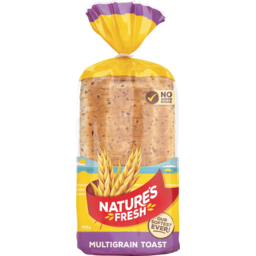 Photo of Natures Fresh Bread Multigrain Toast 700g