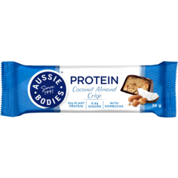 Photo of Aussie Bodies Coconut Almond Crisp With Kombucha Protein Bar 36g
