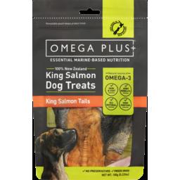 Photo of Omega Plus Dog Treat King Salmon Tails 100g