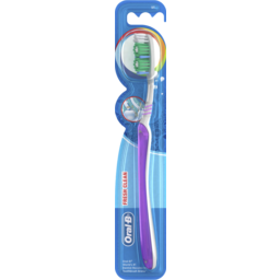 Photo of Oral-B All Rounder Fresh Clean Soft Manual Toothbrush 1 Pack