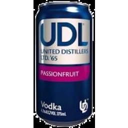 Photo of Udl Vodka Passionfruit 4% 375ml