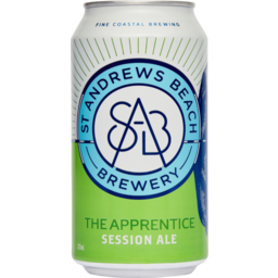 Photo of St Andrews Beach Brewery The Apprentice Session Ale  375ml 6 Pack