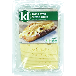 Photo of Kebia Swiss Cheese Slices 150g