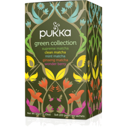 Photo of Pukka Collection Green Tea 20