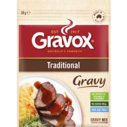 Photo of Gravox Gravy Mix Traditional Sachet 29g
