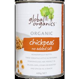 Photo of Global Organics - Chickpeas With No Added Salt - 400g