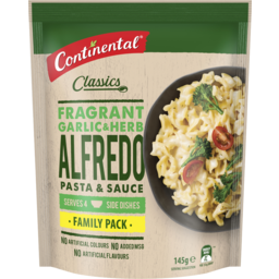 Photo of Continental P&Sval Alfredo With Garlic & Herb 5x145g