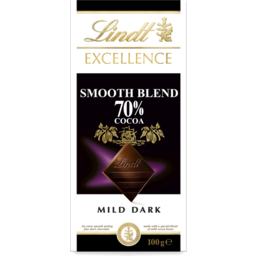 Photo of Lindt Excellence Smooth Blend 70% Cocoa 100g