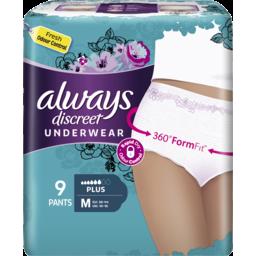Photo of  Always Discreet Medium Plus 9 Pants