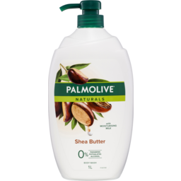 Photo of Palmolive Naturals Shea Butter Body Wash With Moisturising Milk 0% Parabens Recyclable 1l