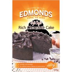 Photo of Edmonds Cake Mix Chocolate Heaven 535g
