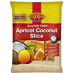 Photo of Golden Days Apricot Coconut Slice 150gm