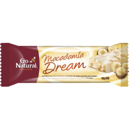 Photo of Go Natural Macadamia Dream Bar 50g