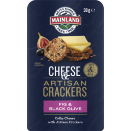 Photo of Mainland On The Go Fig & Black Olive Crackers 38gm