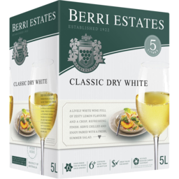 Photo of Berri Est Classic Dry White Cask