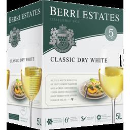 Photo of Berri Est Classic Dry White Cask